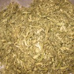 dry tobacco stalks