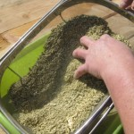 sifting powder